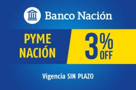 PYMENACIÓN</br>3% reintegro